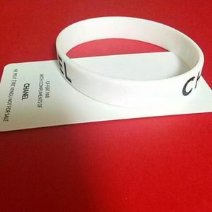 CHANEL Jewelry - Chanel VIP Silicone Bracelet